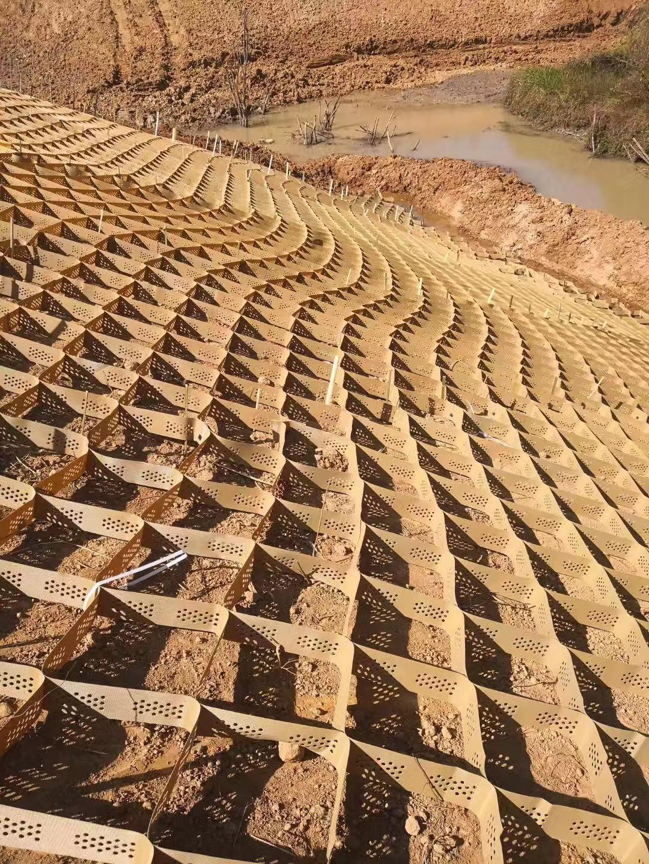 河道蜂巢约束系统